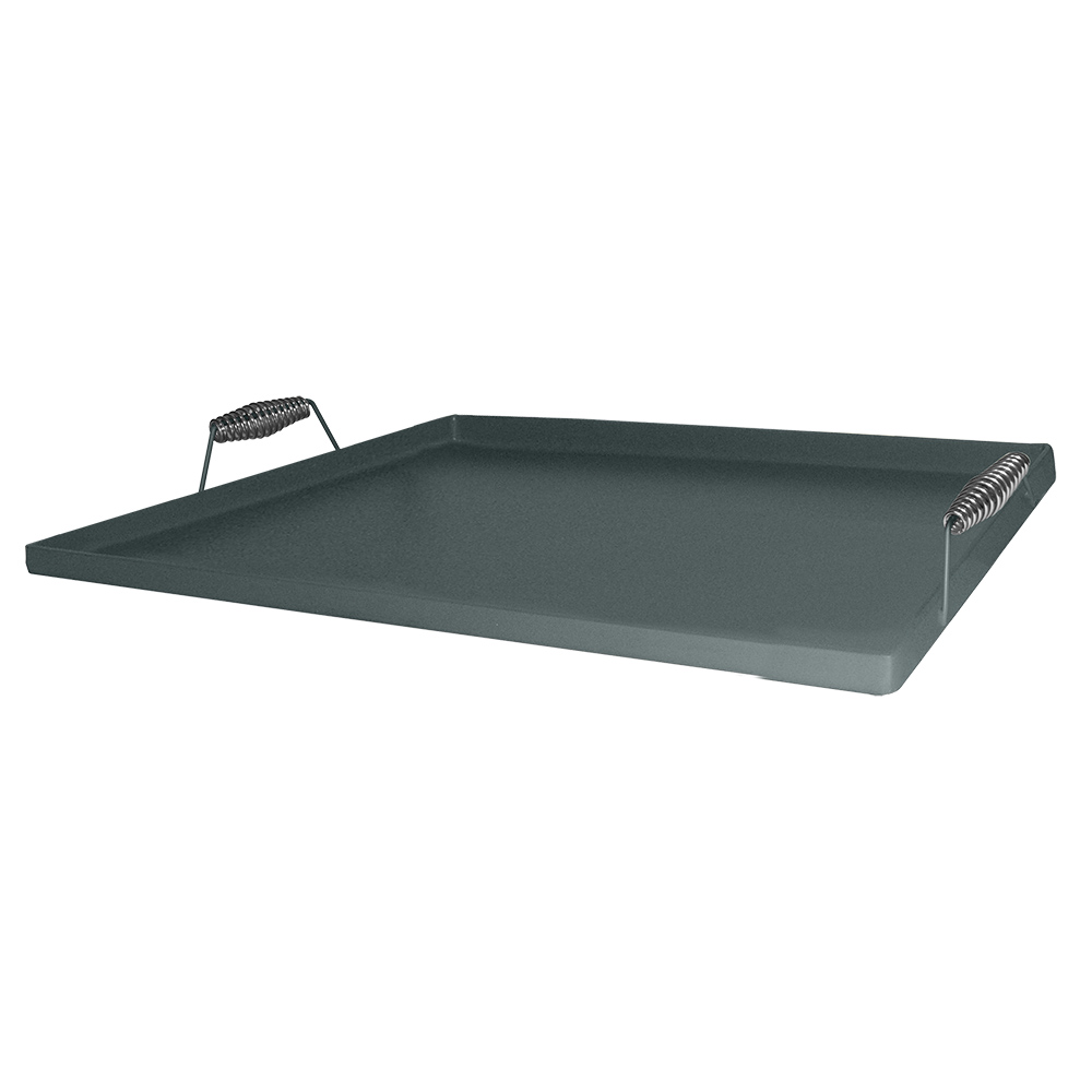 Tomlinson 1020450 Lift-Off Steel Griddle, Fits Four Burners, 22.5 x 22.5 in, Coated Pickled Steel