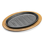 "Tomlinson 1023047 Wood Underliner for 11 x 7"" Oval Skillet"
