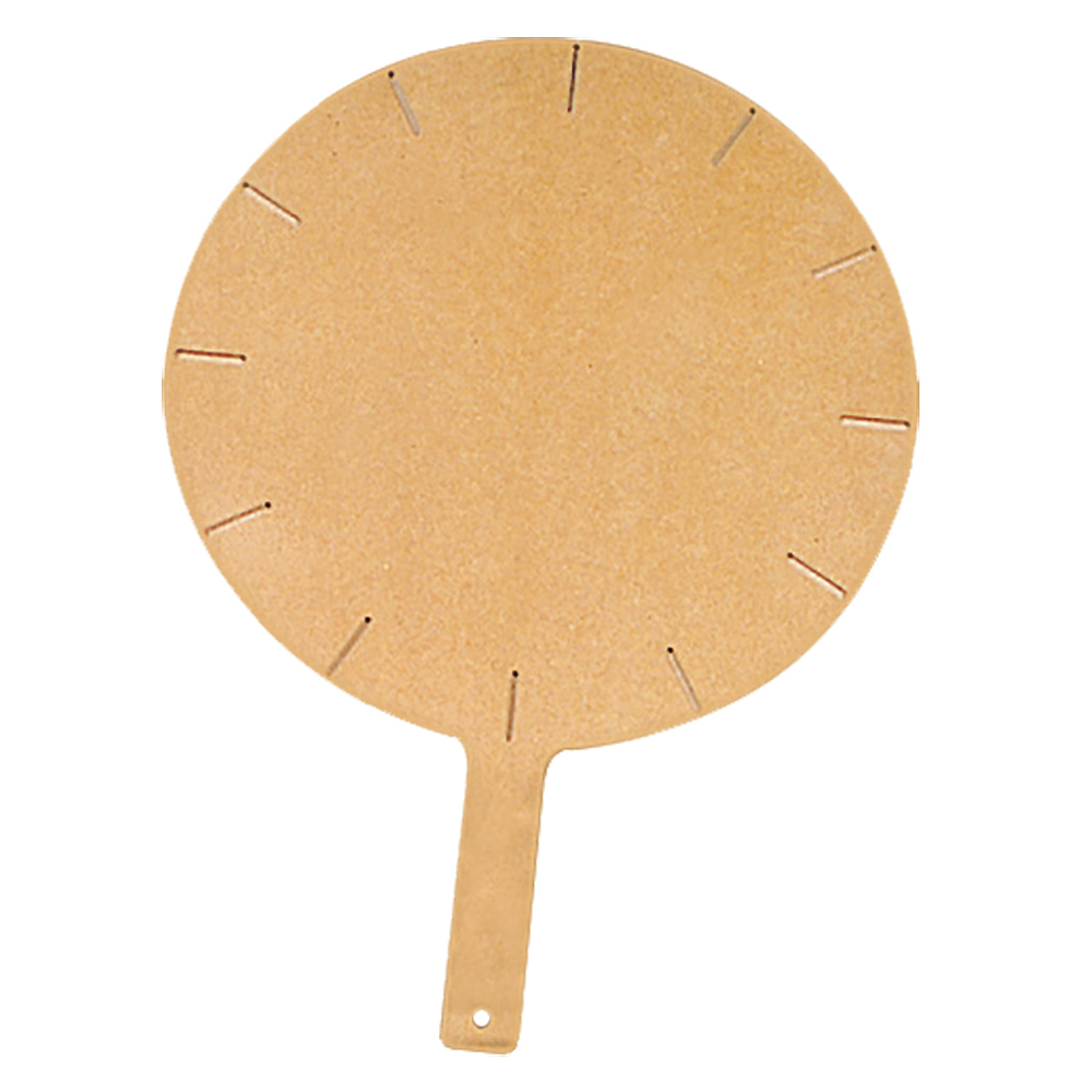 "Tomlinson 1030212 Round Pizza Peel w/ 12-Slice Guides, 18 x 1/4"", NSF"