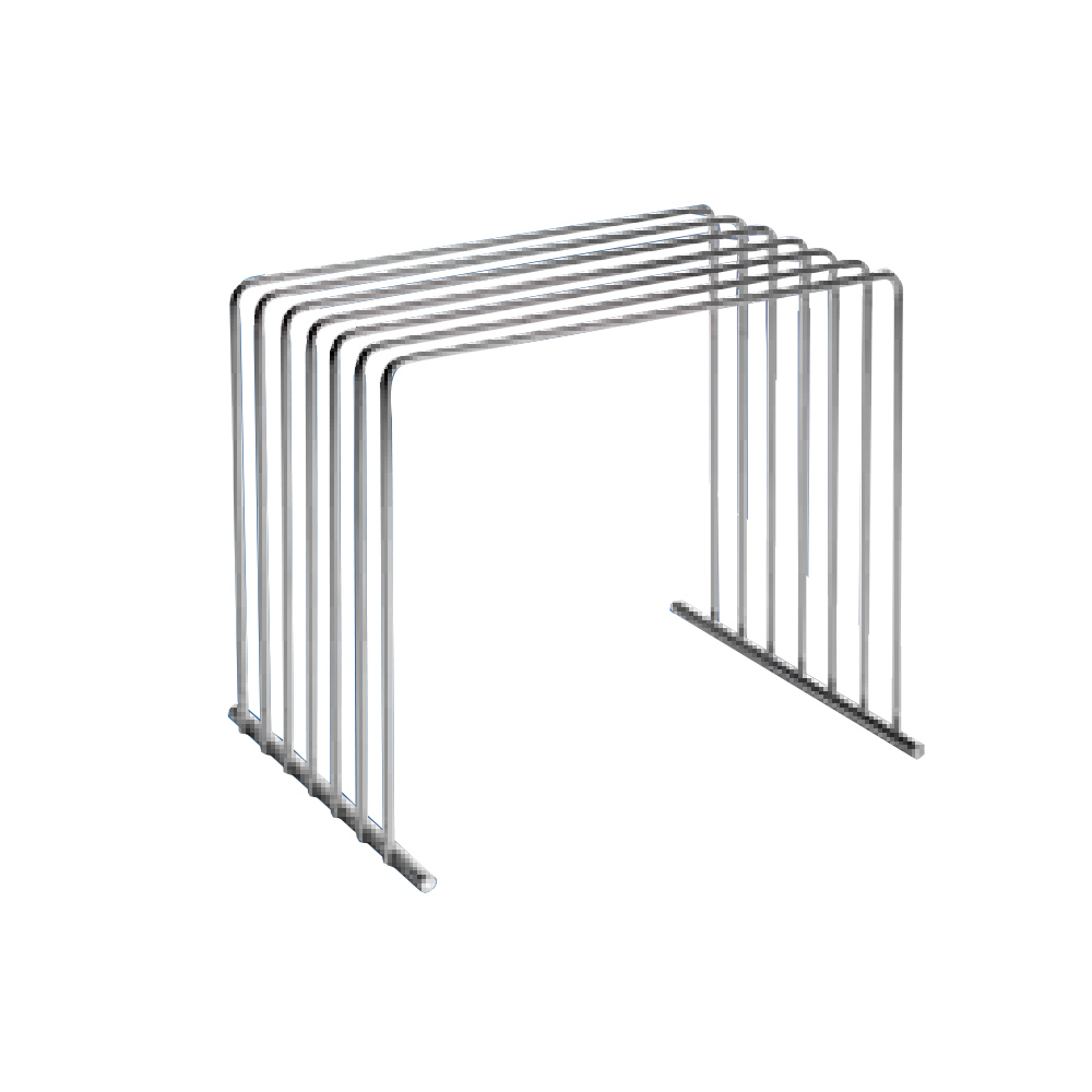 Tomlinson 1031800 Stainless Cutting Board Rack, 10 x 8 x 9""