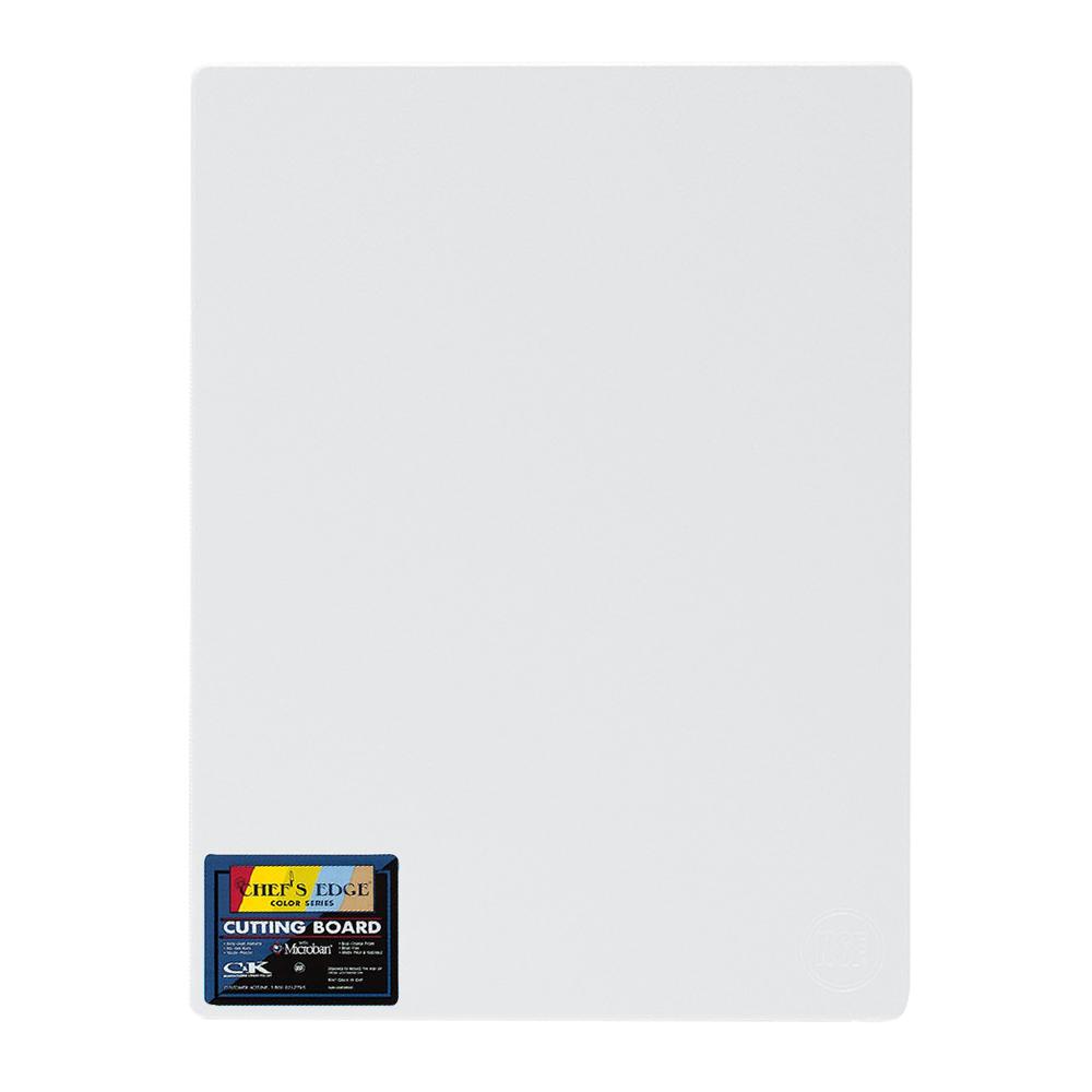 "Tomlinson 1032308 Cutting Board w/ Microban, 18 x 24"", NSF, White"