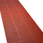 Tomlinson 1035072 General Purpose Multi-Trac Roll Mat, 36 x 432-in, Red