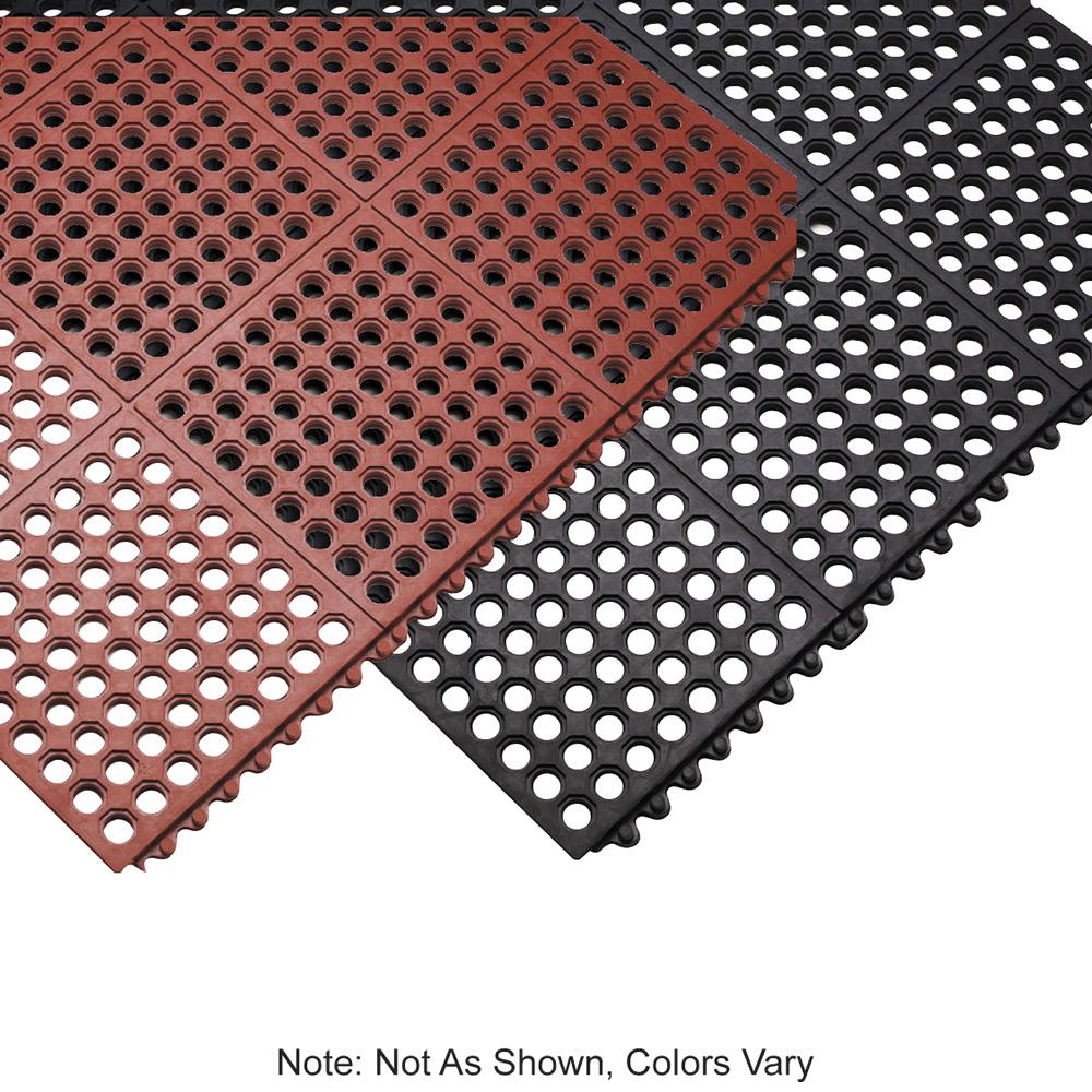 "Tomlinson 1035085 Heavyweight Anti-Fatigue Mat, 36 x 60"", Red"