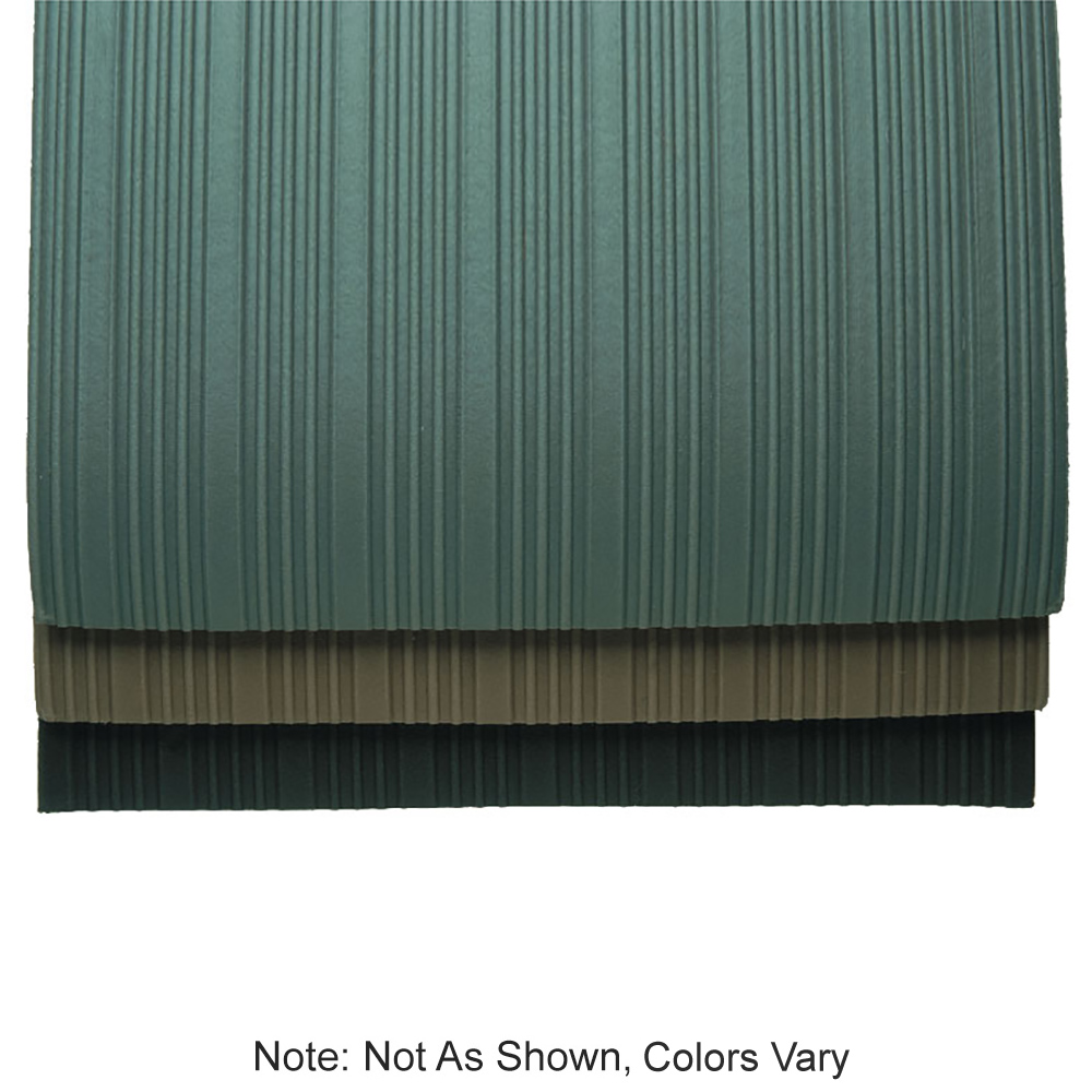 "Tomlinson 1035153 Cushion Runner, 36 x 720"", Roll, Black"