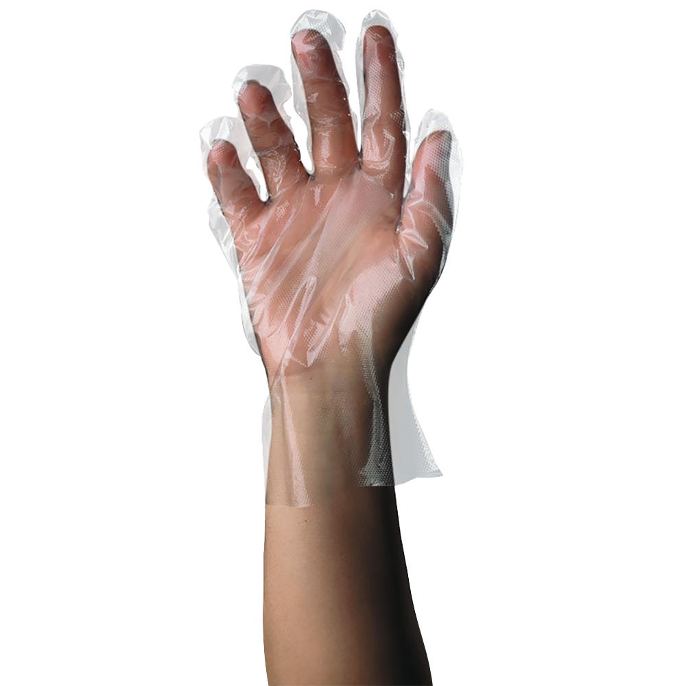 Tomlinson 1036321 Polyethylene Disposable Glove, Small