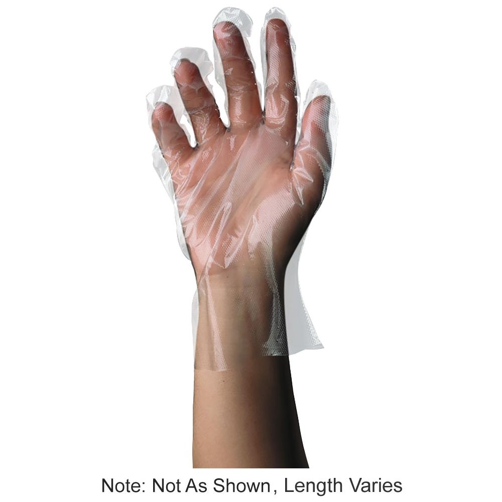 Tomlinson 1036715 Elbow Length Polyethylene Disposable Glove