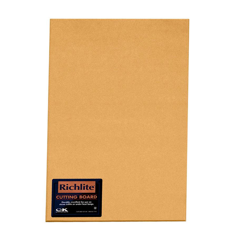 "Tomlinson 1930220 Full Sheet Cutting Board, 48 x 96 x 1/4"", Heat Resistant"