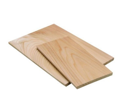 Tomlinson 1019263 Cedar Wood Plank - 1/4 x 3-1/2 x 6-1/2 in - For Cooking Over Open Flames
