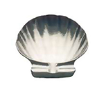 Tomlinson 1006422 Bake-N-Serve Dish, Shell Design, 5-1/4-in, Frosty Finish