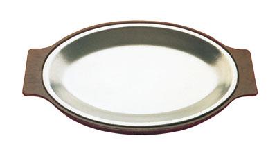 Tomlinson 1006336 Lightweight Dinner Platter Holder For 8 x 12-in Platter, Black