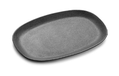 Tomlinson 1014592 Oval Cast Iron Skillet, 12 x 8-in, Preseasoned