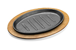 Tomlinson 1023049 Wood Underliner For 9-3/8 x 5-1/2-in Oval Skillet