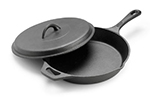 Tomlinson 1023006 Cast Iron Lid, Fits 8-in Supercast Fry Pan