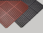 Tomlinson 1035085 Heavyweight Anti-Fatigue Mat, 36 x 60-in, Red