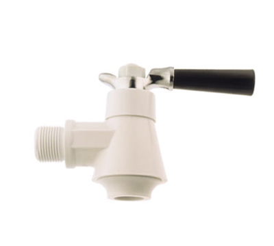 Tomlinson 1000816 No-Drip Beverage Faucet, 3/4-in NPS Thread & 13/16-in Long