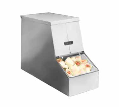 Tomlinson 1004002 Dairy Creamer Dispenser w/ 2-Insulated Cold Packs, Beige Polyurethane Finish