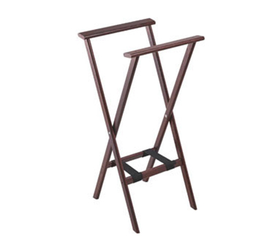 Tomlinson 1017821 Reach Thru Hardwood Tray Stand, 38-in Tall, Red Mahogany