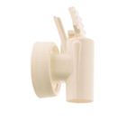 Tomlinson 1008050 Bag-In-Box Faucet w/ 38-mm Thread, White