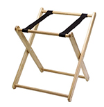 Tomlinson ICH-73 N Infant Carrier Holder, Folds, Solid Hardwood, Natural Finish