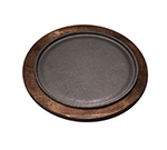 Tomlinson 1016250 Round Serving Griddle Underliner, Birch w/ Walnut Finish, for RP-17