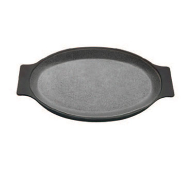 Tomlinson 1018506 Oval Griddle, Raised, Cast Iron