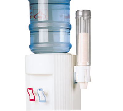 Tomlinson 1003692 Water Cup Dispenser, Pull-Type, w/ Single Gravity Tube, .69-in Dia Cup Size
