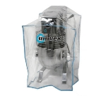 Univex 1000454 Clear Plastic Equipment Cover, for 12 qt & 20 qt Mixers