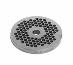 Univex 1000512 Plate, 1/2 in, Fits # 12 Meat & Food Grinder