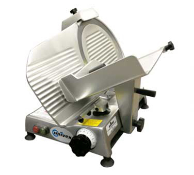 "Univex 4612 115 Compact Manual Slicer, 12"" Blade, Variable Slice Thickness, Sharpener, 115/1V"