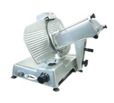 "Univex 6612M 115 Manual Slicer w/ 12"" Blade, Variable Slice Thickness, Sharpener, 115/1V"