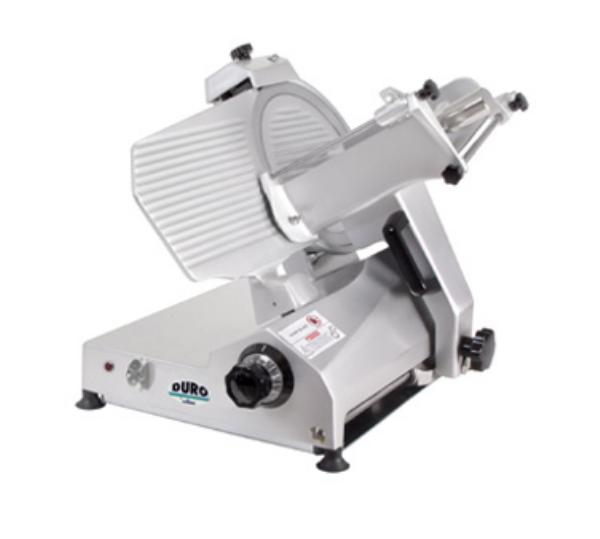 "Univex 7512 1151 Manual Angle Feed Duro Slicer, 12"" Diam. Knife, 115/1"
