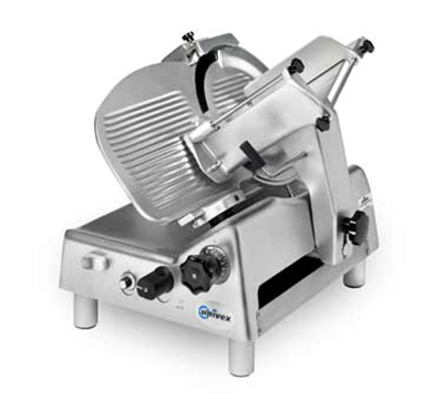 "Univex 8713S 115 Variable Speed Automatic Slicer w/ 13"" Knife, Sharpener, 115/1V"
