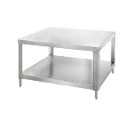 Univex S5A Equipment Stand, w/ Under Shelf, Stainless, for CDR11 & CDR23