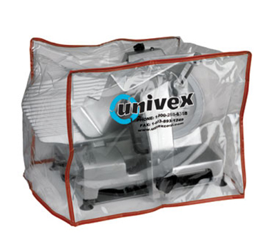 Univex 1000450 Heavy Duty Plastic Equipment Cover For Small to Medium Slicers