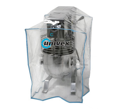 Univex 1000456 Heavy Duty Plastic Equipment Cover For 20, 30, & 40-qt Floor Model