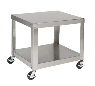 Univex S-1A Stainless Equipment Stand For Small Mixers, Locking Casters