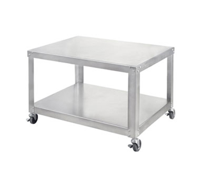 Univex S-3B Stainless Equipment Stand For Large Slicers, Locking Casters