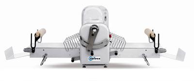 """Univex SFG 500 B 80-1/10"""" Long Reversible Dough Sheeter, Bench Model, Wide Belt"""