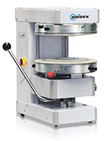 "Univex SPZ50 Dough Rounder w/ 19-3/4"" Ring, Automatic"