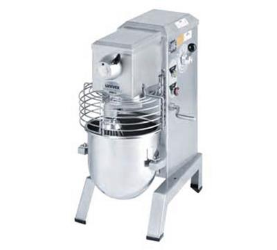 Univex SRM12 230EFY 12-qt Countertop Food Mixer Stainless Bowl Export 230 V Gold Restaurant Supply