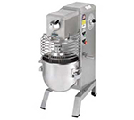 Univex SRM20 115EFK 20-qt Capacity Food Mixer, Wire Whip & Dough Hook, 115/1, Blue