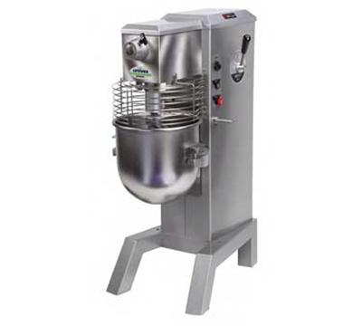 Univex SRM30H  2083EFK 30-qt Floor Model Mixer Variable Speed Drive 208/240/3 Blue Restaurant Supply