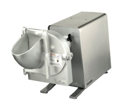 Univex VS2000 1151 High Volume Vegetable Slicer/Shredder w/Drive Unit, 115/1, Silver