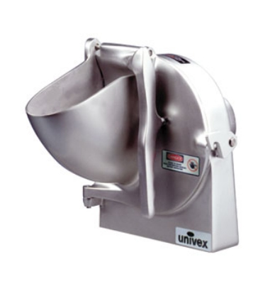 Univex VS9H Grater Attachment, 9 in, w/Plate Holder & 3/16 in Shredder Plate