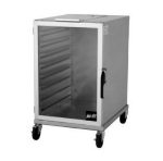 Nu-vu HW-2-1/2G Enclosed Transfer Cart w/ 9-Full Size Or 18-Half Size Pan Capacity