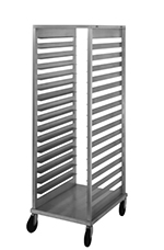 Nu-vu SB2 Full-Height Knock Down Pan Rack w/ Open Sides, (17) Full-Size Capacity