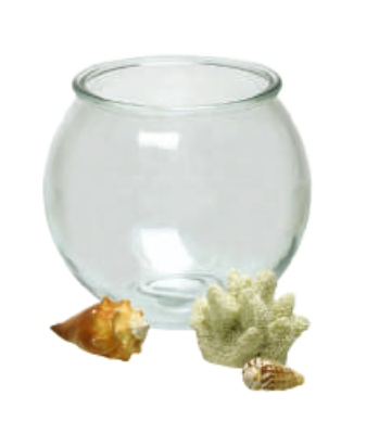 Anchor 23263M .5-gal Round Fish Bowl Terrarium, Crystal