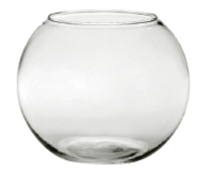 "Anchor 30320 5.5"" Rose Bowl, Crystal"