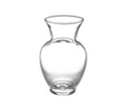 Anchor 31194 5-in Spring Garden Vase, Crystal