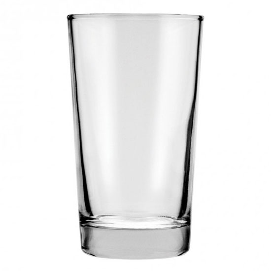 Anchor 3168U 8 oz Heavy Base Hi-Ball Glass, Crystal